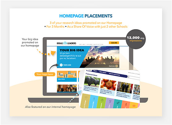 Interactive Brochure Design Page