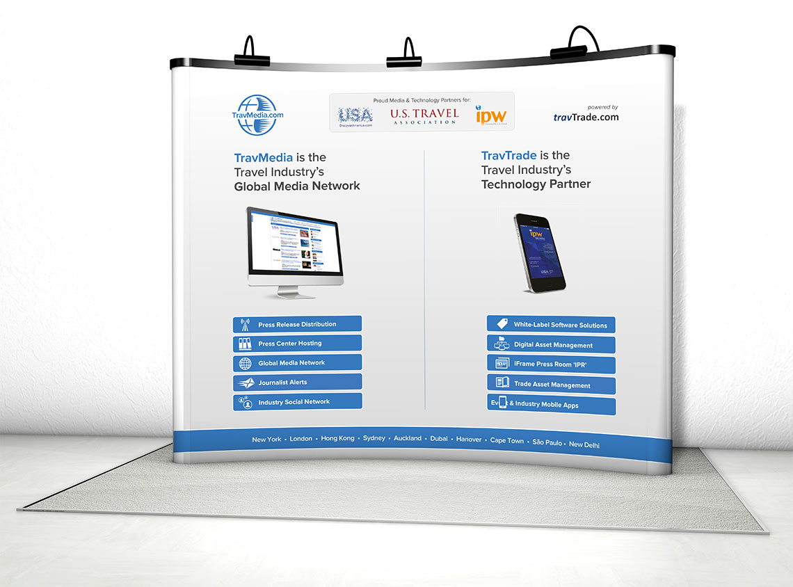 Exhibition Stand Design for TravTrade